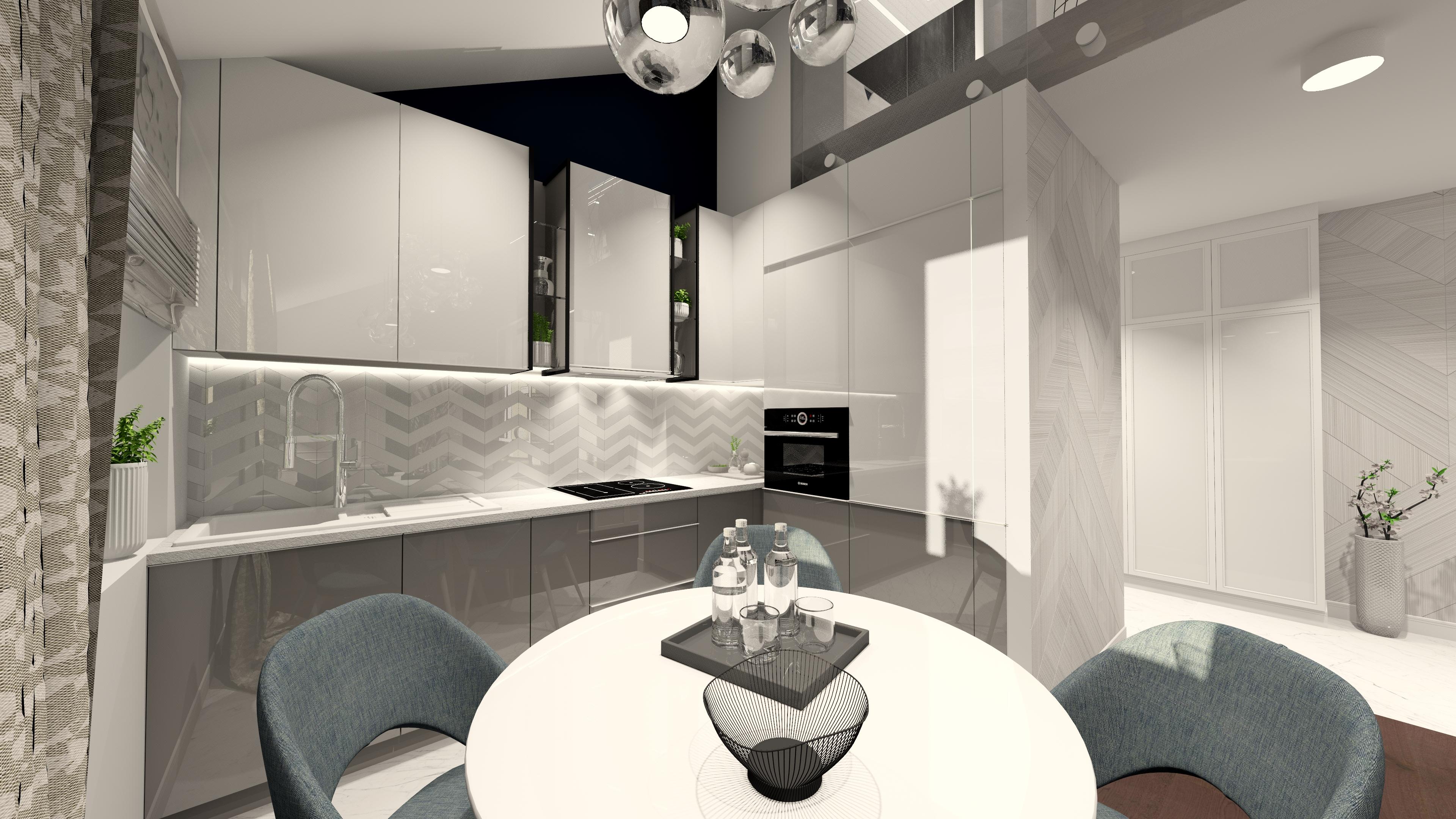projektantpulawy-pulawy-czapla-interior-design-entresol-modern-steel-small-room-kitchenROZ5