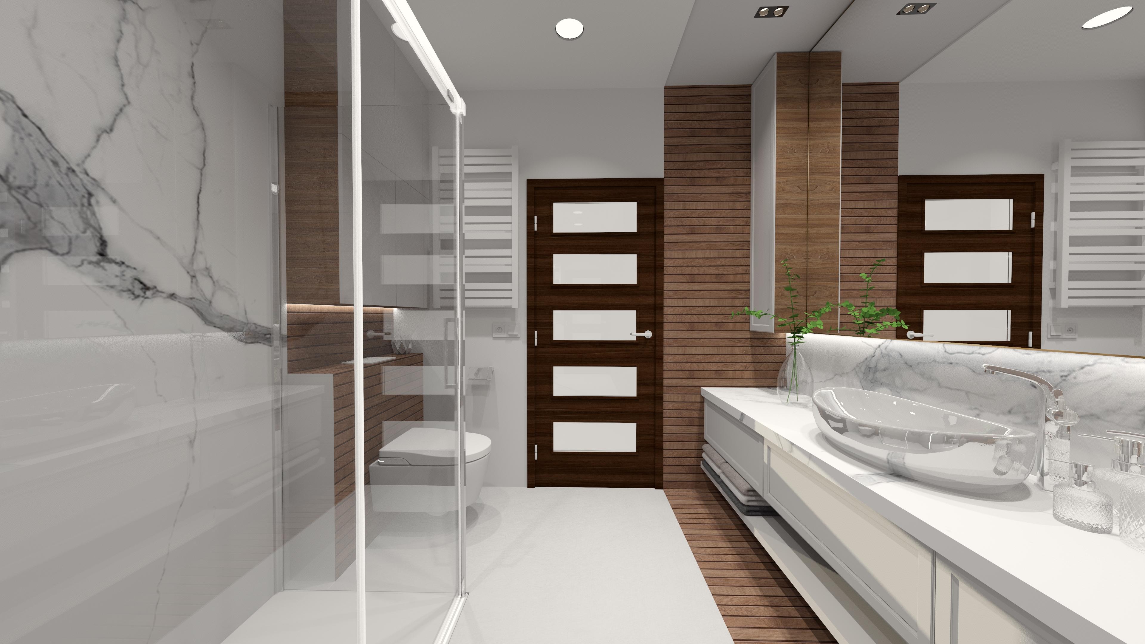 Projekty łazienek Projektant Puławy Pracownia Małgorzata