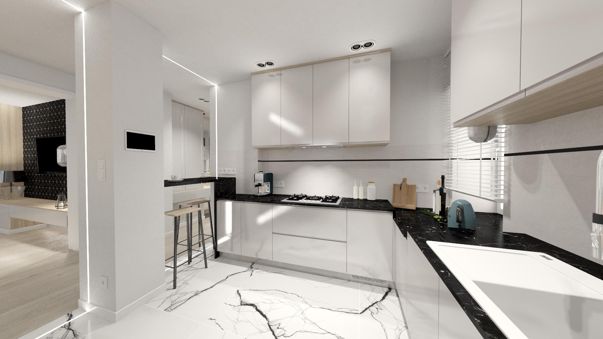 Tk kitchen kuchnia projektantpulawy pracownia projektowania wnetrz czapla malgorzata projekt interior design pulawy (2)